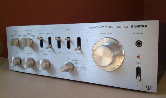 Unitra Fonica wzmacniacz stereo WS 503