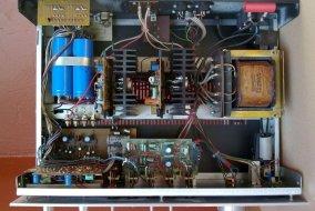Unitra Fonica wzmacniacz stereo WS 503 - wnetrze