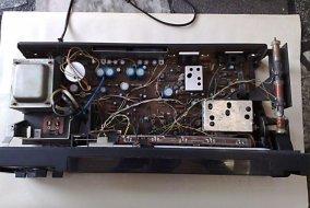 Unitra Diora Amator 2 stereo - wnetrze